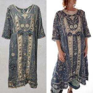 New Magnolia Pearl Denim Coronado Dress Indigo OS